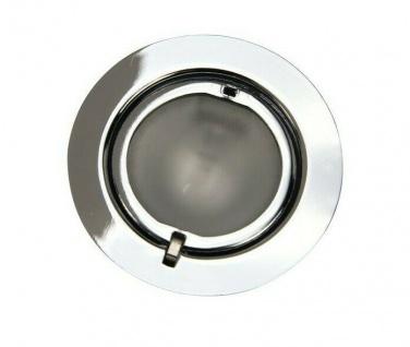 Heitronic Einbau Strahler SALZBURG chrom 5x 20W EBL Decken Leuchten Lampen Set