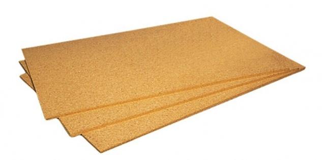 15 Ökolit Iso Kork Dämm Platten 60x90 cm x 10 mm Trittschall Dämmung Pinn Wand