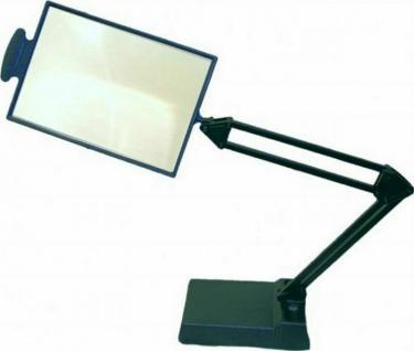 große Tischlupe mit 2-fach Vergrößerung Seh Lese Hilfe Bildschirm Lupe Glas