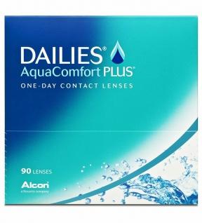 87 DAILIES Aquacomfort Plus Tages Kontakt Linsen weich BC 8.7mm DIA 14 PWR +2, 25