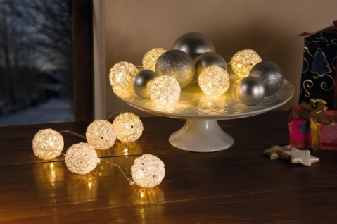 Led Lichterkette Lichtball Lichterschlauch Tischdeko Weihnachten
