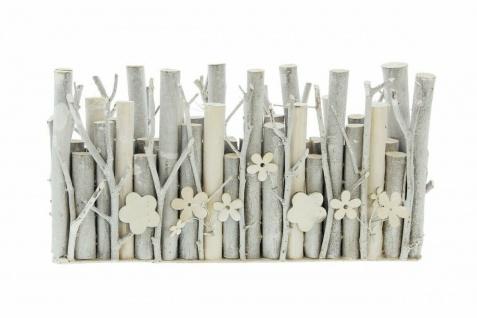 """Vase ?Holzblume"""" Deko Tisch Blumen Glas Vasen Flasche + Holz Blume Ast - Vorschau 3"""