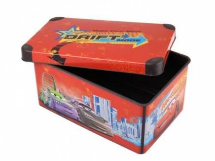 Curver Disney CARS Spielzeug Aufbewahrungs Box 7 L Deko Kiste Box Kassette