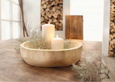 """Schale """" Wood"""" aus Holz, teilweise mit Rinde bedeckt, Deko Servier Baum Scheibe"""