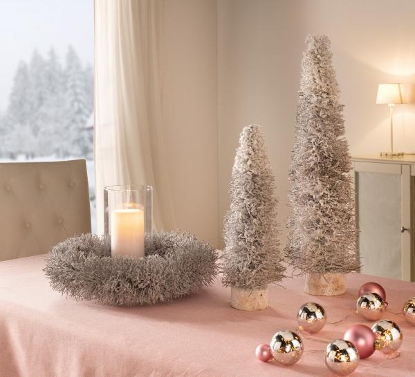 Weihnachtsdeko Für Die Tür.Dekokranz Winterschnee Kranz Natur Wand Tür Weihnachten Weihnachtsdeko Hänger