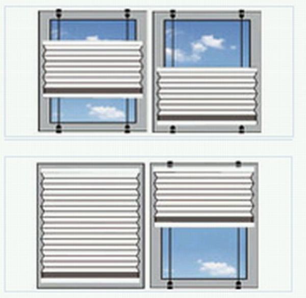 plissee rollo wei 90x140 raffrollo stoffrollo jalousie vorhang gardine kaufen bei. Black Bedroom Furniture Sets. Home Design Ideas