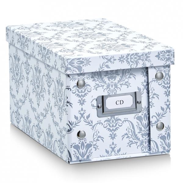 2x zeller cd box mit deckel vintage f r 20 cd 39 s aufbewahrung kiste karton case kaufen bei. Black Bedroom Furniture Sets. Home Design Ideas
