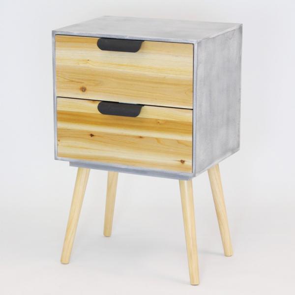 Kommode Retro Style Klein Holzkommode Beistellschrank Kommode