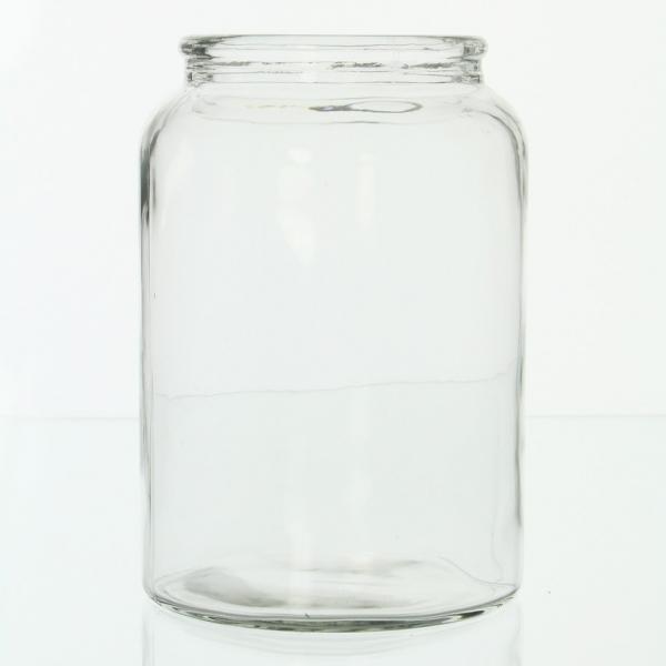 Vase \'simple-living\' Gross Glasvase Tischvase Tischdeko Blumenvase ...