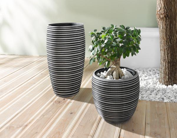 bertopf 39 circle gross blumentopf blumenk bel pflanzk bel pflanztopf pflanzer kaufen bei. Black Bedroom Furniture Sets. Home Design Ideas