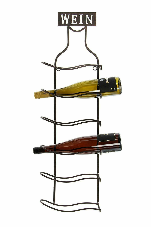 Wandregal Wein Aus Metall Rost Optik Wein Flaschen Halter Stander Regal Kaufen Bei Come4buy Gmbh