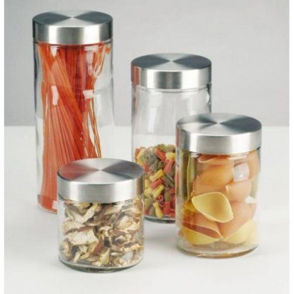 Vorratsbehälter zeller vorratsglas 750 ml mit edelstahl deckel neu vorratsdose