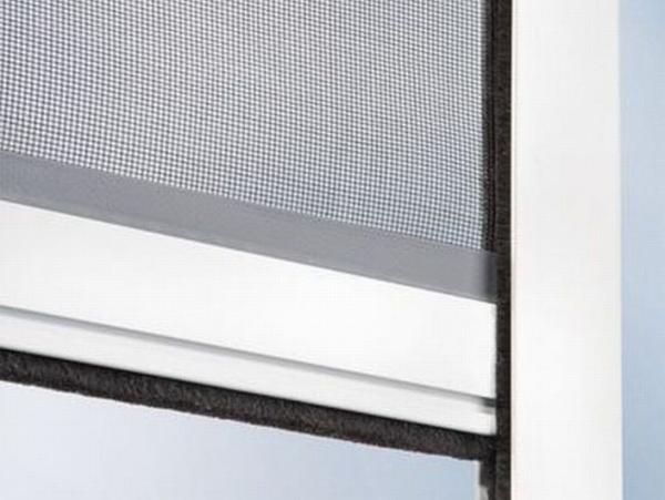 alu insekten schutz fenster rollo wei 160x130 fliegengitter ohne bohren kaufen bei. Black Bedroom Furniture Sets. Home Design Ideas