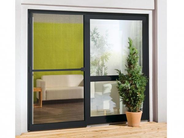 insektenschutz f r t r alu rahmen anthrazit fliegengitter m cken schutz gitter kaufen bei. Black Bedroom Furniture Sets. Home Design Ideas