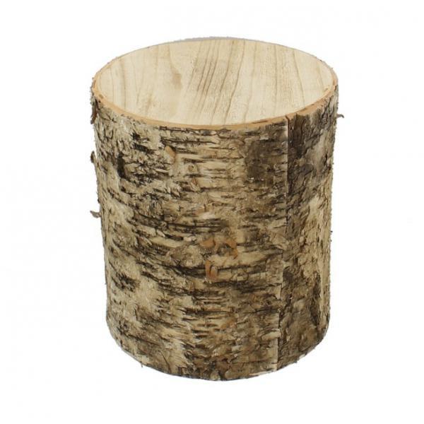 deko birkenstamm gro 26 x 30 cm dekoobjekt birkenholz natur look neu kaufen bei come4buy gmbh. Black Bedroom Furniture Sets. Home Design Ideas