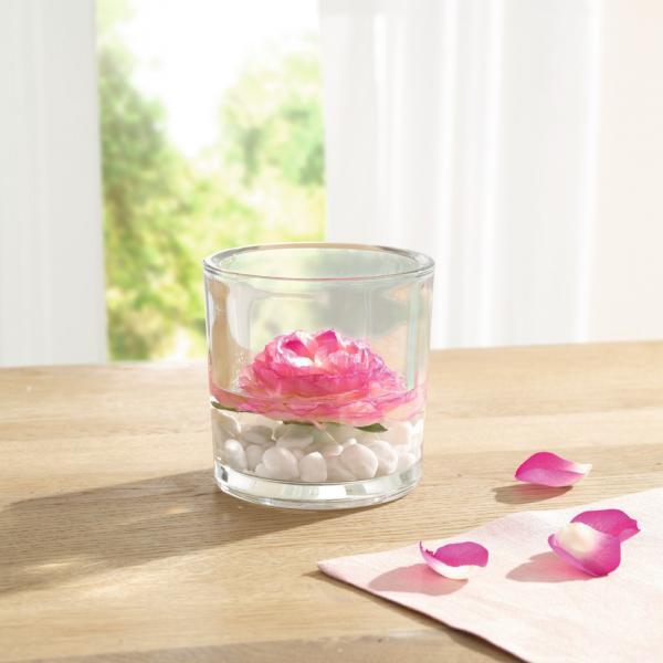 Dekoglas \'simple-living\' Glasvase Tischvase Tischdeko Blumenvase ...