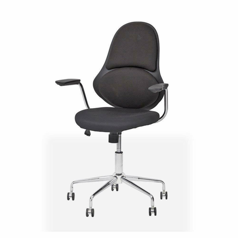Chrom Ersatz-Rolle weich passend für Vitra Stühle Bürodrehstuhl Rad harte Böden