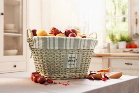 Universalkorb 'Sweet Home? Wäsche Korb Aufbewahrungskorb Erntekorb