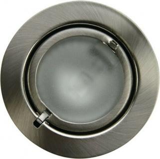 Heitronic Einbau Strahler SALZBURG chrom 3x 20W EBL Decken Lampen Leuchten Set