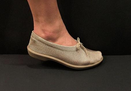 Damen Comfort Mokassins L Beige Gr. 39 Elastische Freizeit Schuhe Slipper - Kaufen bei Come4buy GmbH