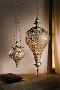 """Metall Hänge Windlicht """" Fata Morgana"""" groß, Kerzen Teelicht Halter Ständer"""