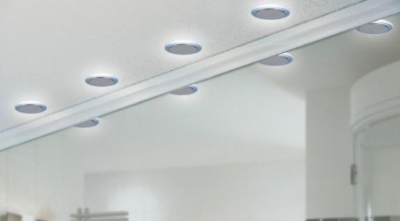 PAULMANN 98890 10er SET EINBAULEUCHTEN LED STERNHIMMEL 10x0, 16W METALL SATIN