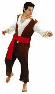 Herren Karnval / Fasching Kostüm Spanischer PIRAT Hemd Gr. 52 Freibeuter