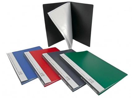 10x Biella Sicht Buch mit 10 20 30 40 Hüllen, Farbwahl, Präsentations Mappe