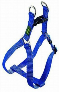 "Hunter Nylon Hunde Geschirr "" Vario Quick"" blau Gr. L 52 - 78 cm Brust Umfang"