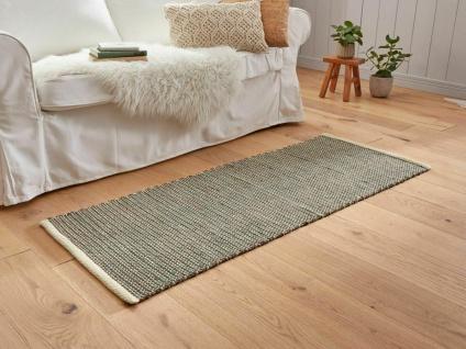 """Läufer """" Scandi-Style"""", beige braun, 60x150 cm, 100% Baumwolle, Boden Teppich"""