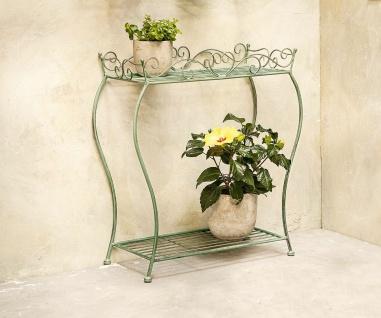 """Stand Regal """" Ranken"""" aus Metall, Antik Design für Blumen Pflanzen Balkon Garten"""