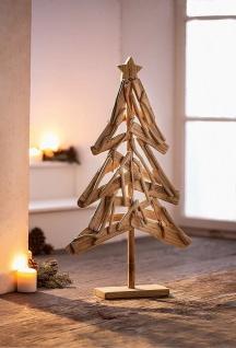 Design Tanne aus Treibholz, 71 cm hoch, Weihnachts Tannen Baum Holz Deko Figur