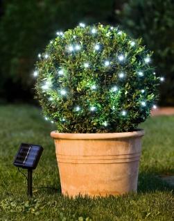 Solar Lichter Kette 5m, mit 50 LED, Innen + Außen, Lichter Schlauch Leucht