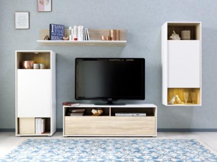 Wohnzimmer Eiche Weiss Online Bestellen Bei Yatego