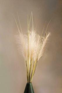 """Deko Bündel """" Pampagras"""", 115 cm hoch, Zier Gras Kunst Pflanze Schilf Strauß"""