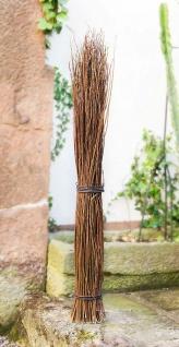 Weidenbündel, 120cm hoch aus Natur Weide, Deko Zweig Bündel Kunst Pflanze Zweige