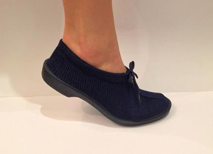 Damen Comfort Mokassins L Blau Gr. 39 Elastische Freizeit Freizeit Freizeit Schuhe Slipper 965b60