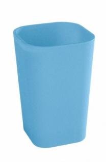 Wenko Bad Accessoires Set Rainbow Blue Seifenspender Seifenschale