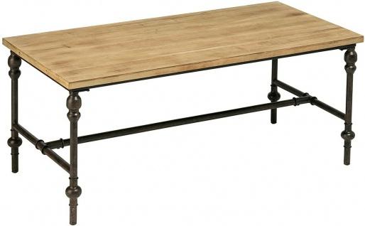Premier Housewares Couchtisch TRIBECA aus Holz & Metall, Sofa Tisch
