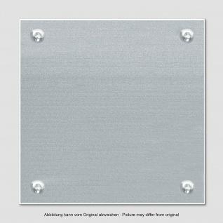 """Glas Magnet Tafel """" Mauer"""" 50x50 + Magnete + Stift Memo Schreib Board Pinn Wand - Vorschau 3"""