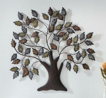 """Wand Deko """" Baum"""" aus Metall, Braun & Kupfer, Natur Wand Schmuck Hänger Bild"""