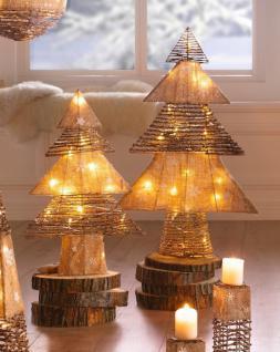 Tanne Weihnachtszeit Gross Weihnachten Weihnachtsbaum Christbaum Beleuchtet - Vorschau
