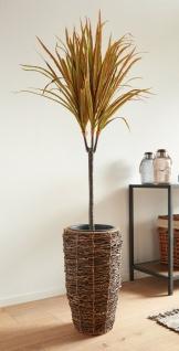 """Kunst Palme """" Drachenbaum"""" 95 cm hoch, künstliche Büro Zier Deko Zimmer Pflanze"""