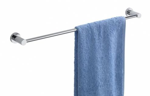 Wenko Handtuchstange Uno Valente Verchromt Badetuchstange Wand Handtuchhalter - Vorschau 2