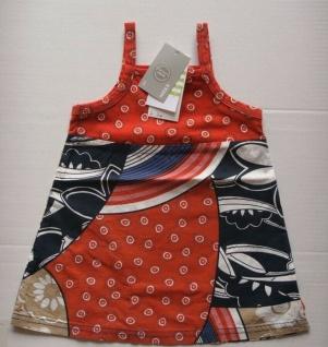 MEXX MINI Mädchen Baby Sommer Kleid mit Spaghetti Träger Gr. 80, Kinder Tunika