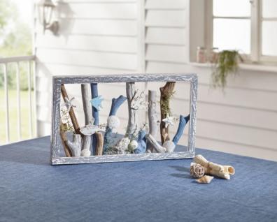 Holz Deko 'Seaside? natur maritim Bild Objekt Tisch Dekoration Fenster Figur