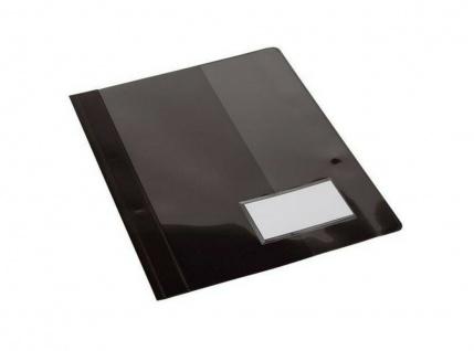 200 Biella Schnellhefter schwarz 250 Blatt A4 überbreit, Kunststoff Schul Hefter