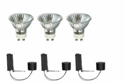 Paulmann 99754 2Easy Halogen Einbau Leuchten Basis Set 3x 35W GU10