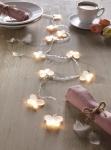 LED Lichterkette 'Schmetterling? 10 warmweiß Lichter Innen Beleuchtung Schlauch