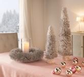 Dekokranz 'Winterschnee? Kranz Natur Wand Tür Weihnachten Weihnachtsdeko Hänger